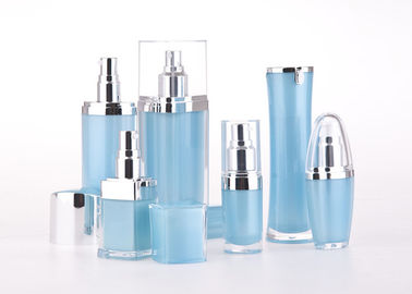 Transparent Bottle Containers For Lotions And Creams Jet Molding