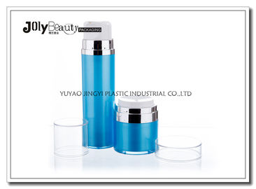 Custom Made Empty Makeup Containers , Plastic Cosmetic Jars And Bottles