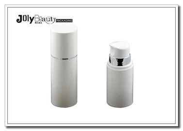 Eco - Friendly Cosmetic Spray ABS / PP Airless Bottle 15ml 30ml 50ml