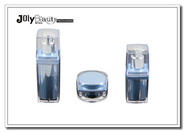 PMMA 5ml Empty Makeup Bottles Is Rotating Inner Bile Blue For Oxidized Cosmetics