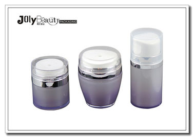 Pump Spray Cylindrical Round PP Empty Makeup Bottles Cosmetic Packaging